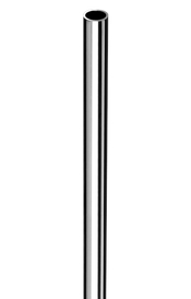 2 Stück  Kupferrohr verchromt   Ø 10mm  x  500 mm  Armaturenanschluss